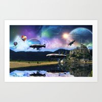 the Ninth Planet Art Print