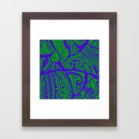 Abstractish 2  Framed Art Print