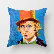 Wonka Throw Pillow