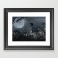 There's A Moon Out Tonight Framed Art Print