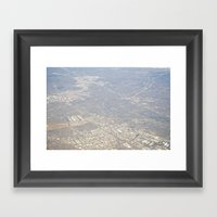 GEOgraphy V Framed Art Print