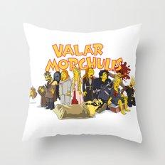 Valar Morghulis Throw Pillow