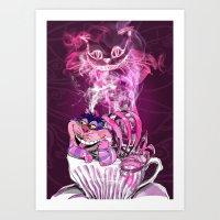 CAT !  Art Print