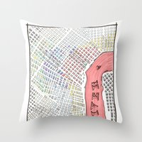The Disputed Prize Throw Pillow