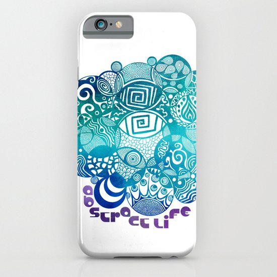 Abstract Life iPhone & iPod Case