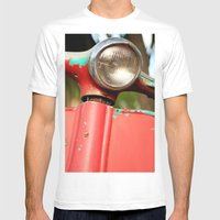 The old scooter - Bambi Mens Fitted Tee White SMALL