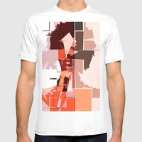K'naan Mens Fitted Tee White SMALL