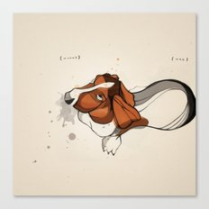 Clancy Berry ( 2002 - 2010 ): Whine // Wag Canvas Print