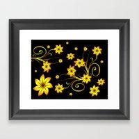 Flower Fantasy 3 Framed Art Print
