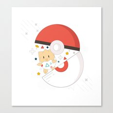 Pokemaster Canvas Print