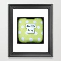 Dream Boy Framed Art Print