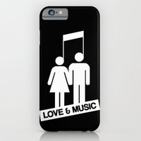 Love And Music iPhone 6 Slim Case