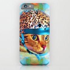 Safety First!-Lady Jasmine iPhone 6s Slim Case
