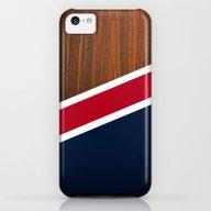 Wooden New England iPhone 5c Slim Case