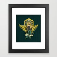 So Say We All Framed Art Print
