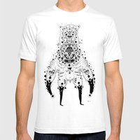 Crab Man Mens Fitted Tee White SMALL