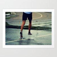 Run Forest, Run! Art Print