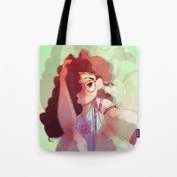 Hippy girl Tote Bag