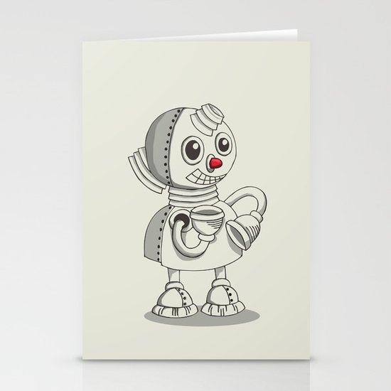 RedNose Stationery Card