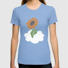Sunflower Womens Fitted Tee Tri-Blue SMALL