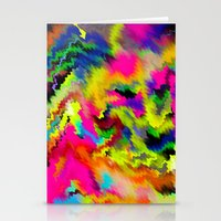 Arcade Wave Stationery Cards