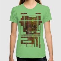 Texture Womens Fitted Tee Grass SMALL