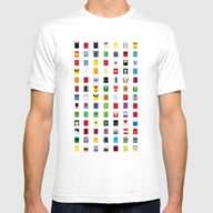 Minimalism SH Mens Fitted Tee White SMALL