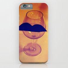 Hipster Wine Glass iPhone 6s Slim Case
