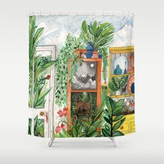 The Jungle Room Shower Curtain