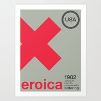 Eroica Single Hop Art Print