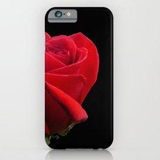 ROSE ON BLACK iPhone 6 Slim Case