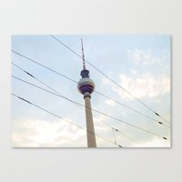 Berliner Fernsehturm Canvas Print