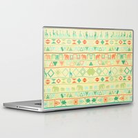 tribal Laptop & iPad Skins featuring Tribal by Sunshine Inspired Designs