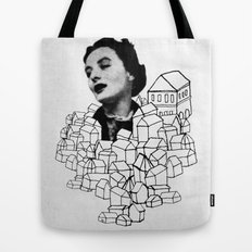 Homes On Parade Tote Bag