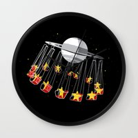 Chairoplanet Wall Clock