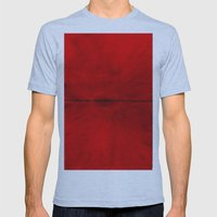 Red Eye Mens Fitted Tee Athletic Blue SMALL