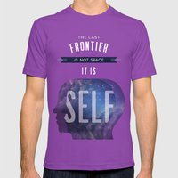 Self Mens Fitted Tee Ultraviolet SMALL