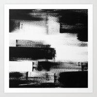 No. 85 Modern Abstract B… Art Print