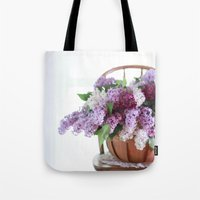 Bouquet of Beautiful - Lilacs  Tote Bag