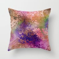 Throw Pillow featuring Fall Whirlwind by Ariadne