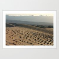 Death Valley | Desert Landscape  Art Print