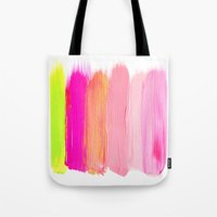 Brush Strokes Tote Bag