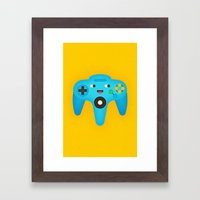 Nintendo 64 Framed Art Print