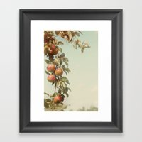 The Orchard Skies Framed Art Print