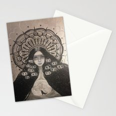 She Brings The Night Stationery Cards