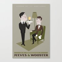 Jeeves & Wooster Canvas Print