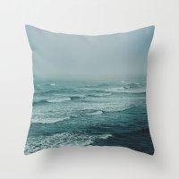 Across the Atlantic Throw Pillow
