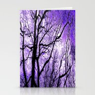 The Trees Know (purple) Stationery Cards