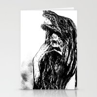 The Beast Within Stationery Cards