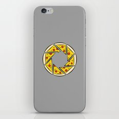 Pizzaperture iPhone & iPod Skin